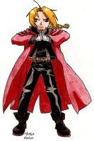 Edward Elric by Vegerot