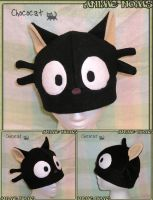 Chococat Commissioned Hat by AnimeNomNoms