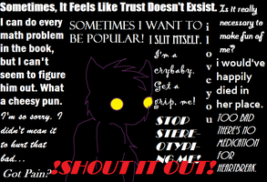 Shout It Out- Redone by doeey