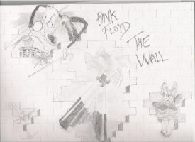 Pink Floyd The Wall by OverIronKill
