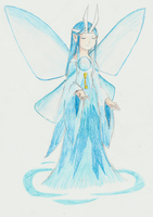 The Legend Of Zelda: Four Swords: Water Fairy by ADistantDiamondSky