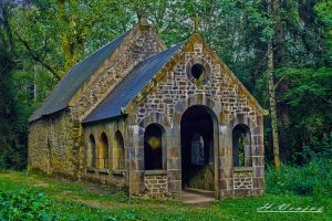 chapel Saint Antoine Orne France by hubert61