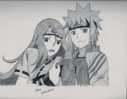 Request: Kushina and Minato by LileoDark