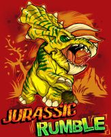 Jurassic Rumble by CaziTena
