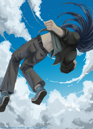 The sky is mine by Inui-Purrl