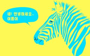 Zebra: Korean by harajukumatt