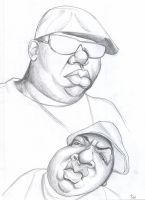 Biggie Smalls 3 by infiltr8arts