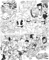 Video Game Characters by DougSQ