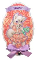 Frilly Badge: Dante by Wishpuff