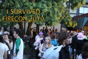 Isurvived FIRECON 2010 by WhoeMelk13