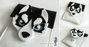 Husky iPad mini sleeve by bt-v