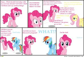 Pinkie comic completed by Parabite