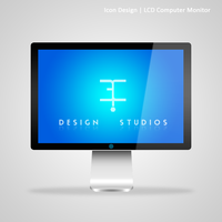 LCD Computer Monitor by EfGraphicDesing
