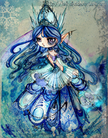 Arela: Snow Queen by Hell-Alka