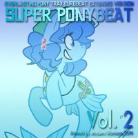 Super Ponybeat Vol.2 Alt Art by eurobeatBrony