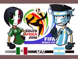 MEXICO vs ARGENTINE by LuigiRivera