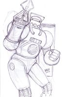 Sketch-Armstrong by shaotemp