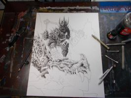 The Witch King of Angmar- FTTF by vikingmyke