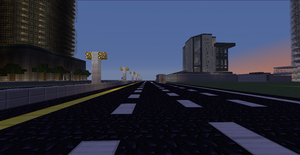 Minecraft - Urban Interstate by Mamamia64