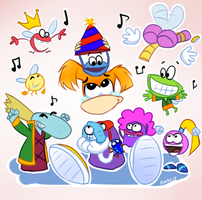 Happy 20th Birthday Rayman by ANZU-0
