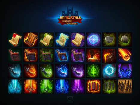 Immortals.icons by tsynali