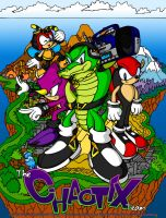 The Chaotix Team -DarkSpeeds- by sonicolas