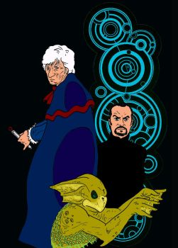 The Third Doctor by superdunk