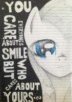 Do you care? (Moon) by Narg007