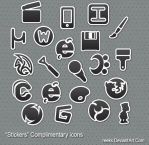 Stickers Complimentary Icons by reeks