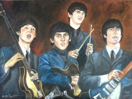 THE BEATLES by waynedowsent