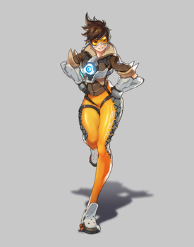 Overwatch - Tracer by LeeSungGuk