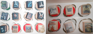 Book Cupcakes by PaddysDemon