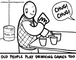 Drinking Games by endlessorigami