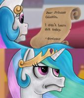 Dear Princess Celestia by 2snacks