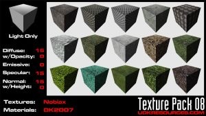 UDK Texture Pack 08 by DK2007