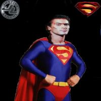 Bruce Campbell as Superman by SteveIrwinFan96