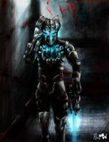 dead space w by Docteurwolf
