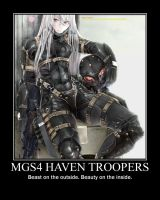 MGS4 - Haven Troopers Motivator by AkiyamaFC