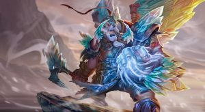 Dota 2 Tusk Ice Dragon armor set by Rayph