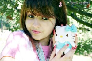 ME AND HELLO KITTY by OrdinaryThing
