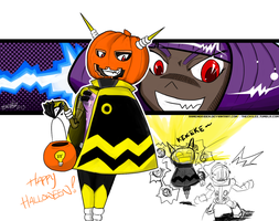Mighty No.3 Halloween Edition by RamenGaiden