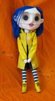 Coraline doll by SewLolita