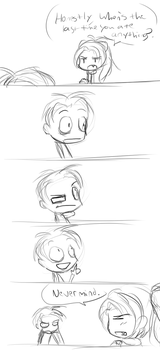 im pretty sure hes never eaten in his life by puresuke