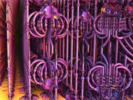 Fractal fences for sales , any colour you wish ... by PhotoComix2