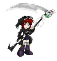 Death Servant by D3-shadow-wolf