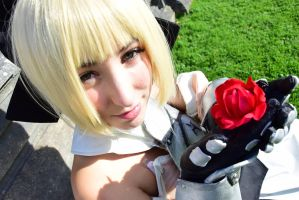 Saber Lily Cosplay (Armor) III. by PinkFluffyKitchicorn