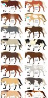 Horse-Equine Adoptables 4-Closed by HDevers