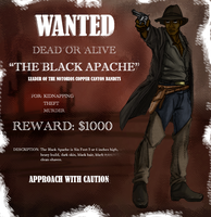 The Black Apache by Savari07