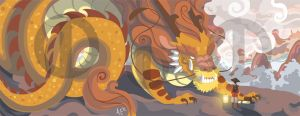 The Paper Dragon by Turtle-Arts