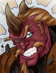 Thorn Head by Sanchez Colored by Thornster